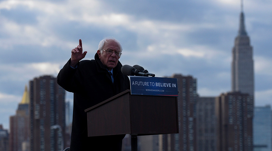 Sanders homecoming: New York native returns to old neighborhood days before primary (VIDEO)