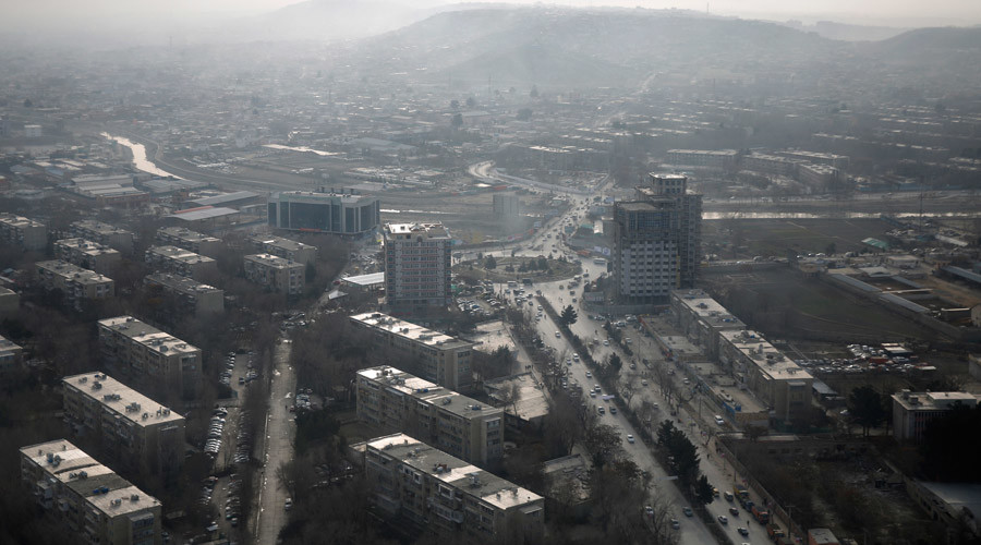 At least 2 blasts reported in Kabul's diplomatic area after Kerry visit