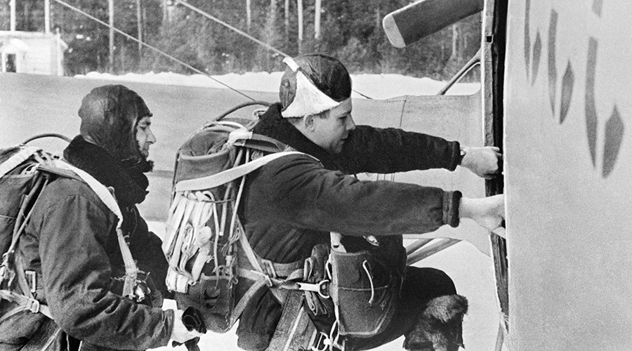 Soviet Pilot Cosmonaut Yuri Gagarin to go on a training mission © RIA Novosti