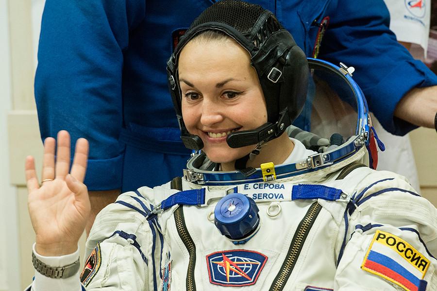 Roskosmos cosmonaut Yelena Serova  © Ramil Sitdikov