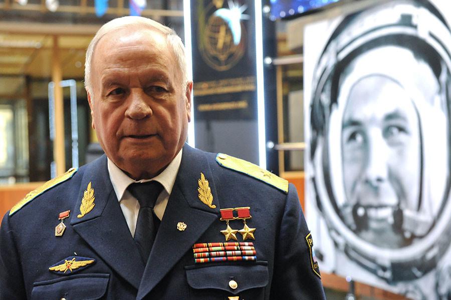 Cosmonaut Victor Gorbatko. ©Sergey Pyatakov