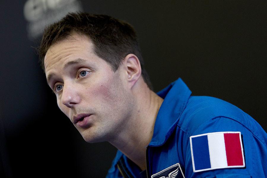 European Space Agency (ESA) French astronaut Thomas Pesquet. © AFP