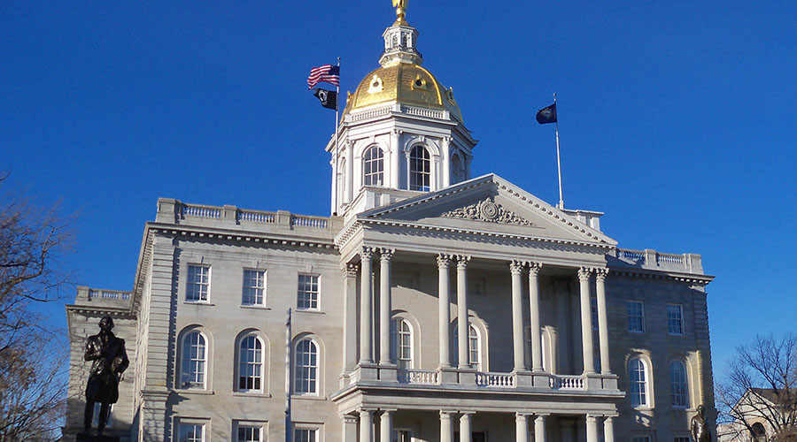 The New Hampshire State House. © Wikipedia