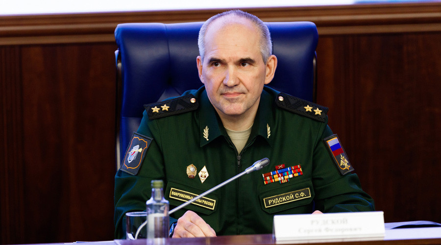 Chief of the Main Operational Directorate at the Russian Armed Forces General Staff, Deputy Chief at the Russian Armed Forces General Staff, Lieutenant General, Sergei Rudskoi © Ministry of defence of the Russian Federation