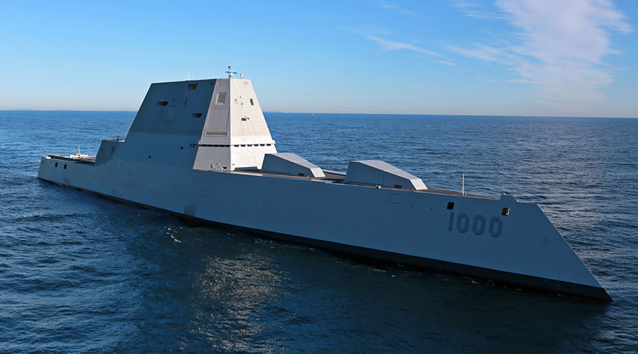 Too stealthy: New off-radar US destroyer poses maritime traffic risks