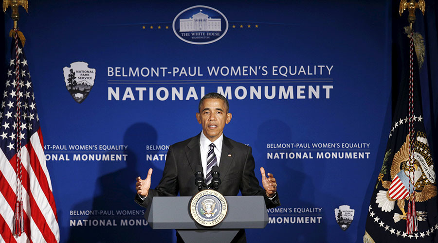 Obama honors women's equality on Equal Pay Day, but says pay equity still lacking