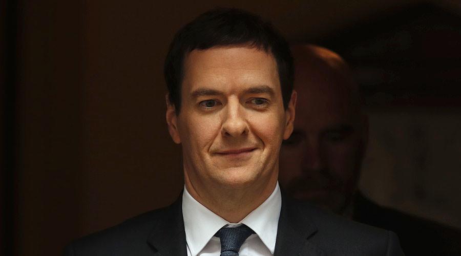 Britain's Chancellor of the Exchequer George Osborne. ©Eddie Keogh