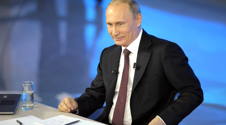 5 Putin LOLs from his annual Q&As
