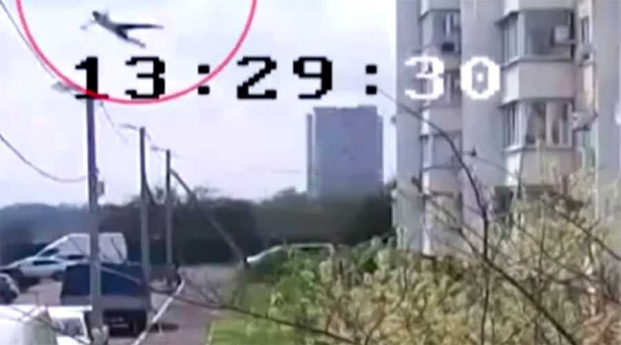 Teen survives after falling from 14-story building in southern Russia (VIDEO)