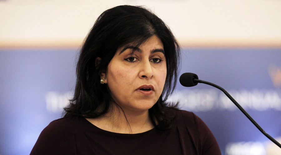 Britain's Baroness Warsi says Muslims more progressive than Tories, ISIS calls for her murder