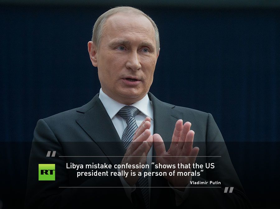 Top quotes from Putin's 2016 Q&A — RT News