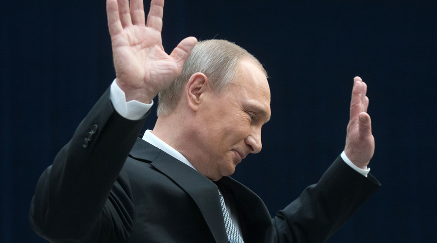 Happy personal life, porridge for breakfast & occasional swearing: Putin opens up during Q&A