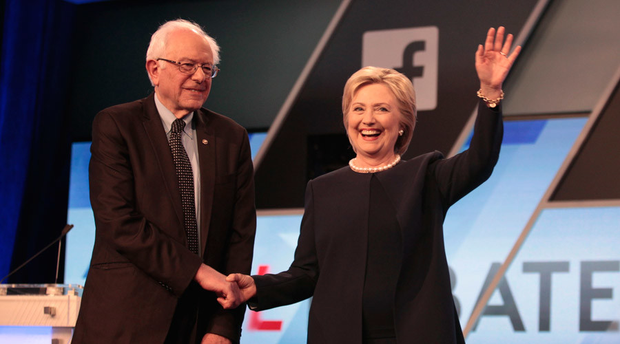 Democratic debate: Bernie Sanders and Hillary Clinton face off in New York
