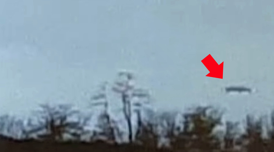 UFO Ohio? Black 'flying saucer' captured in eerie footage (VIDEO)