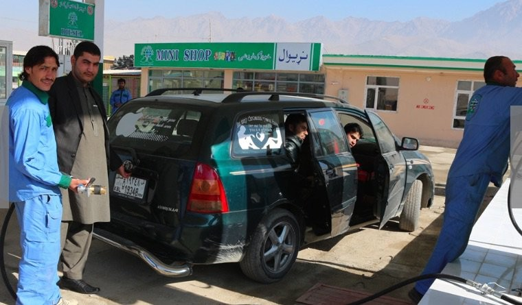The $43 million gas station © USAID