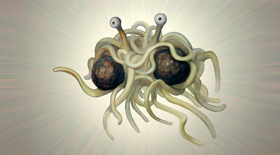 Church of Flying Spaghetti Monster hosts its first official wedding in New Zealand