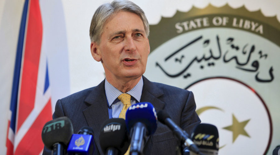 (Britain's Foreign Secretary Philip Hammond © Ismail Zitouny / Reuters)