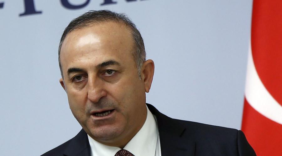 Turkey's Foreign Minister Mevlut Cavusoglu. ©
