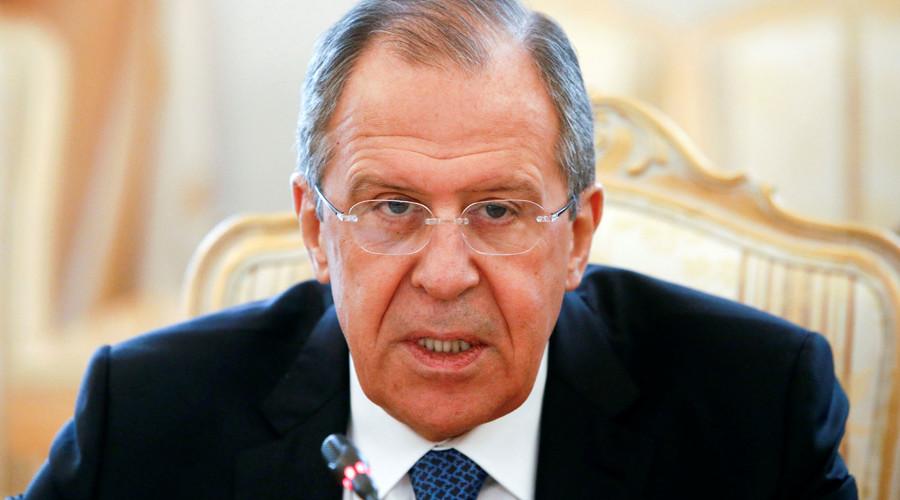 Russian Foreign Minister Sergei Lavrov. © Sergei Karpukhin