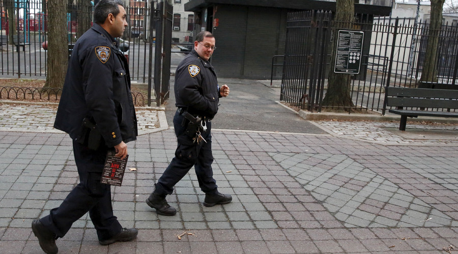 Sight for sore eyes: NYPD roughly arrests blind man