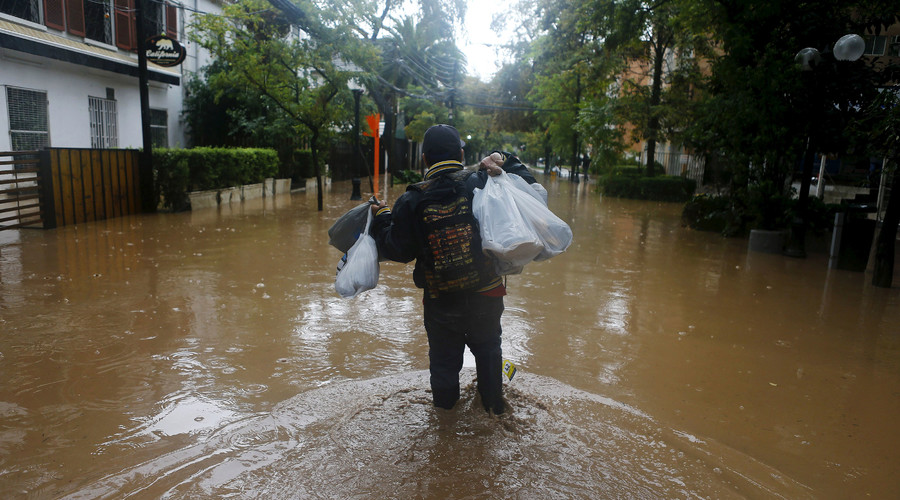 Massive floods hit Chile: Power cuts, mine shut, 4mn people left with no fresh water (PHOTO, VIDEO)