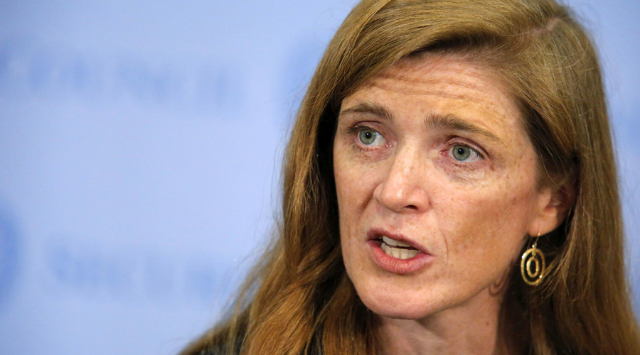 U.S. ambassador to the United Nations Samantha Power. © Eduardo Munoz