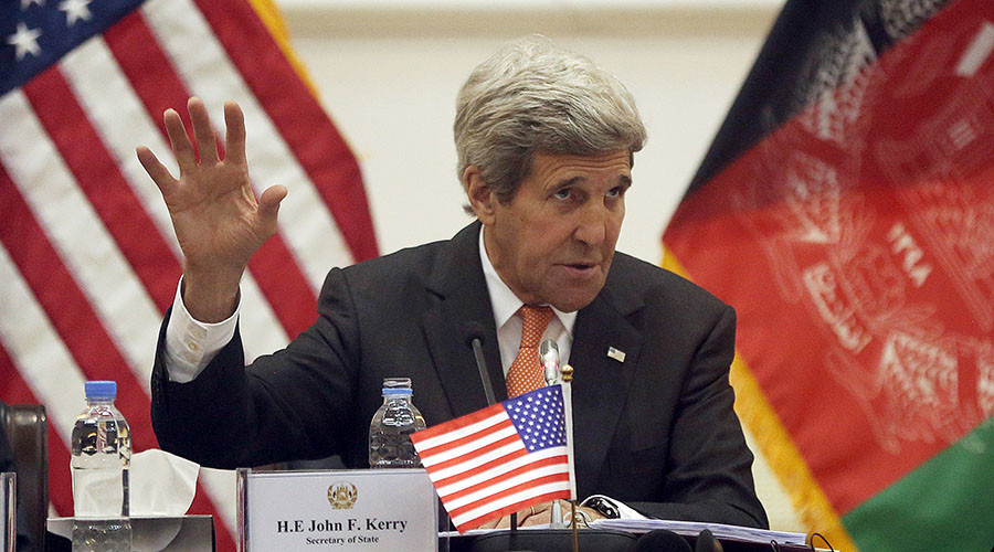 John Kerry target of multiple rocket blasts in Kabul on weekend – Taliban