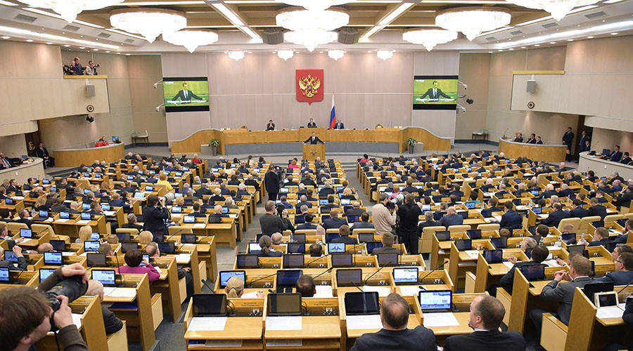 Duma committee approves bill on ousting MPs for missing sessions