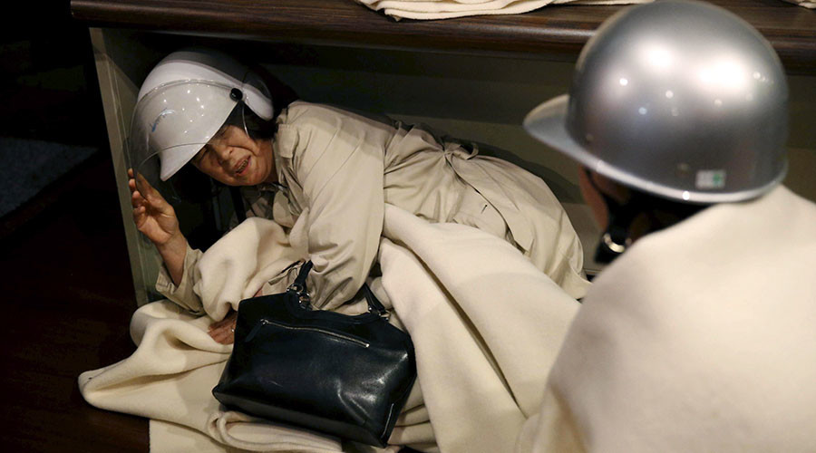 Japan quake victims housed in active prison as part of homeless emergency