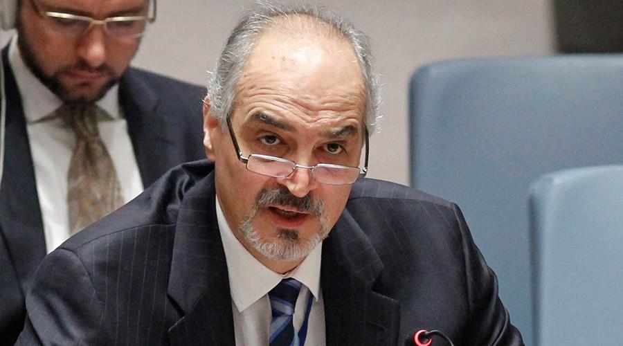 Syrian Ambassador to the U.N. Bashar Ja'afari © Eduardo Munoz