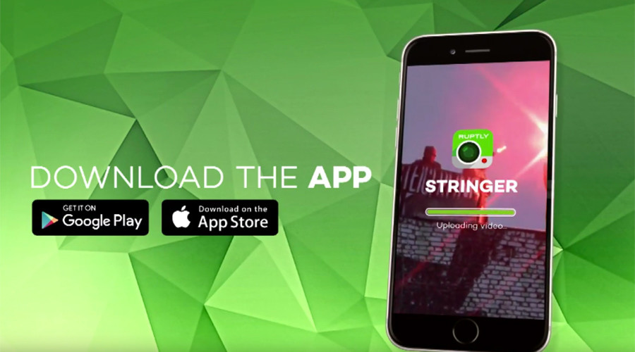 Download Ruptly Stringer app to join thousands of citizen journalists worldwide
