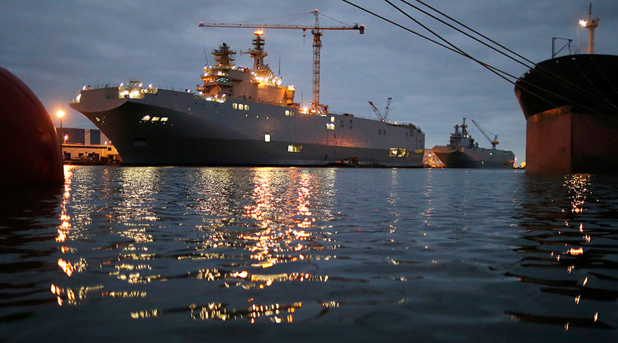 Egypt wants Russian electronic equipment for Mistral carriers