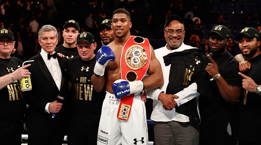 Boxing: Anthony Joshua sets date for heavyweight title defense