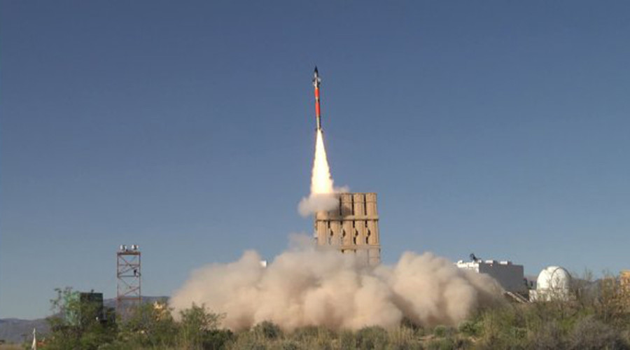 US Army destroys drone with interceptor missile built for Israel's Iron Dome