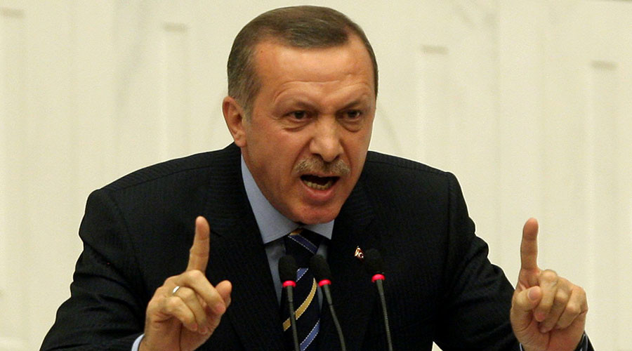 Turkey's President Tayyip Erdogan. ©Adem Altan
