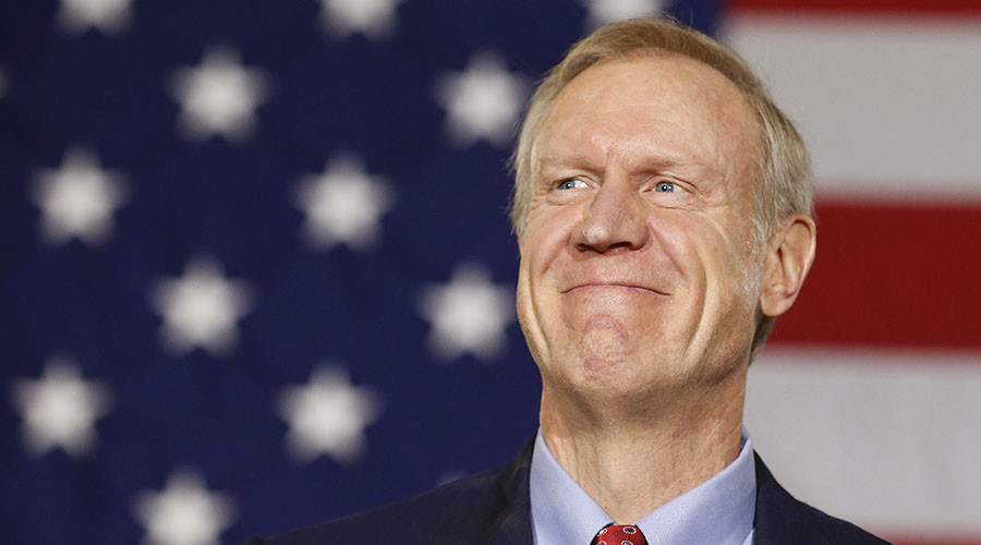 Illinois Governor Bruce Rauner. © Jim Young