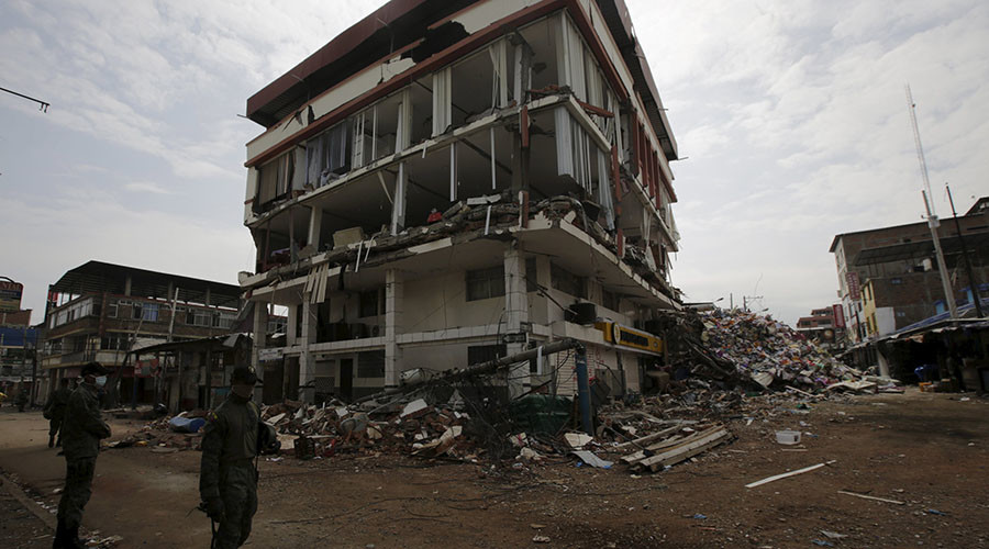 6.0 quake strikes Ecuador amid recovery efforts
