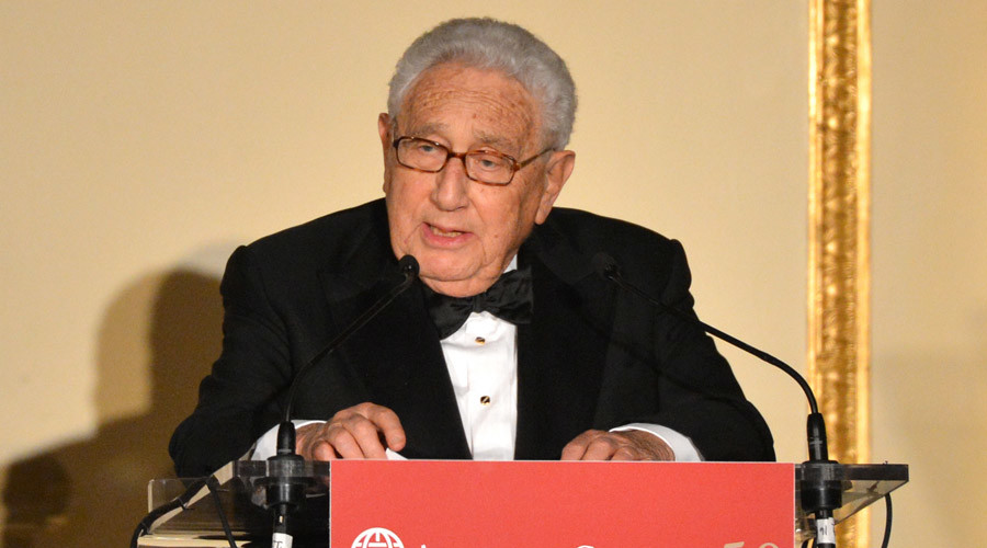 Henry Kissinger, former US Secretary of State and Nobel Peace Prize Laureate © Stan Honda