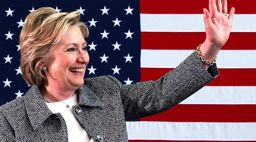 U.S. Democratic presidential candidate Hillary Clinton © Adrees Latif