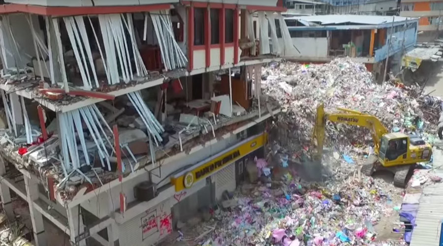 Drone footage reveals scale of destruction by Ecuador quake (VIDEO)