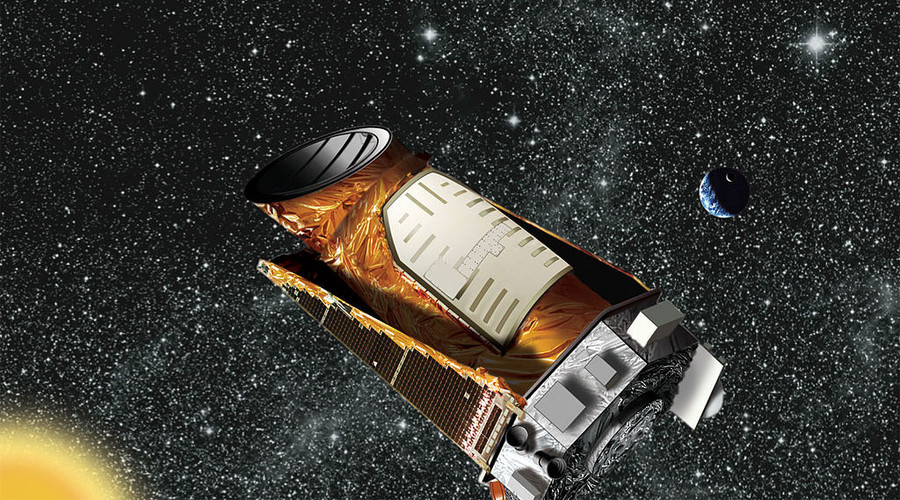 Artist's concept of the Kepler spacecraft. © NASA / Ames / JPL Caltech