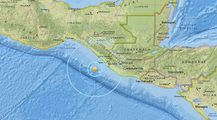 5.6-magnitude quake strikes 100km SW of Suchiate, Mexico at depth of 10 km – USGS