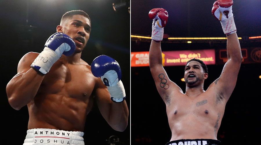 Joshua to face Breazeale in 1st IBF title defense