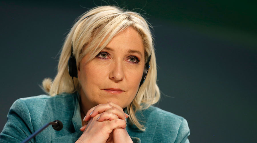 France's far-right National Front political party leader Marine Le Pen © Alessandro Garofalo