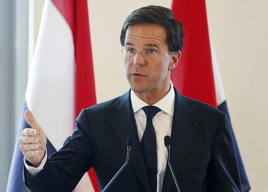 Dutch Prime Minister Mark Rutte. ©Olivia Harris