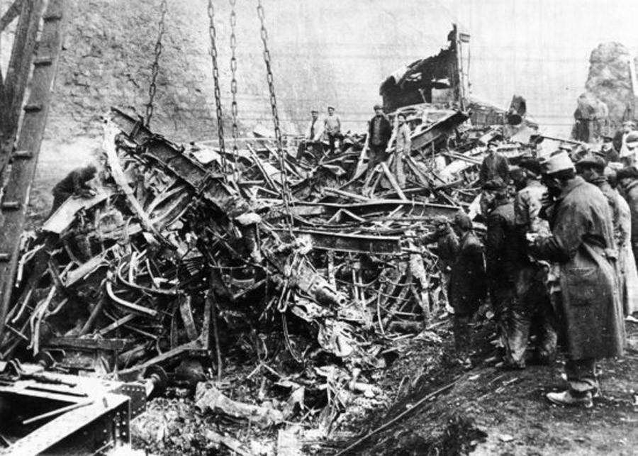 Saint-Michel-de-Maurienne derailment © Wikipedia