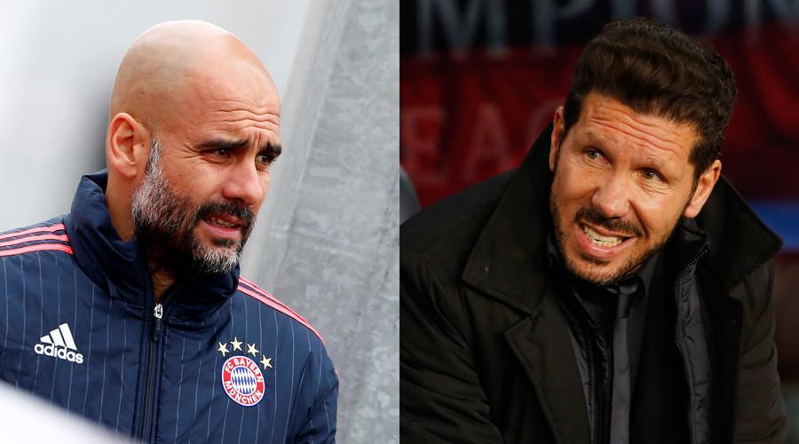 Atletico v Bayern: Simeone bids to add to Guardiola's semi-final woes