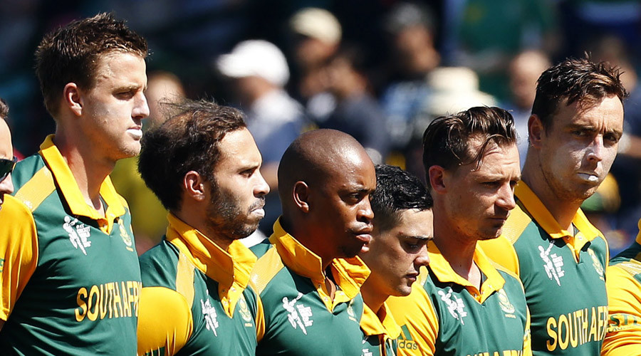 Members of South African national cricket team at Cricket World Cup © Jason Reed