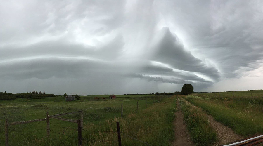 Storm front: Eastern US braces for winds, hail (PHOTO, VIDEO)