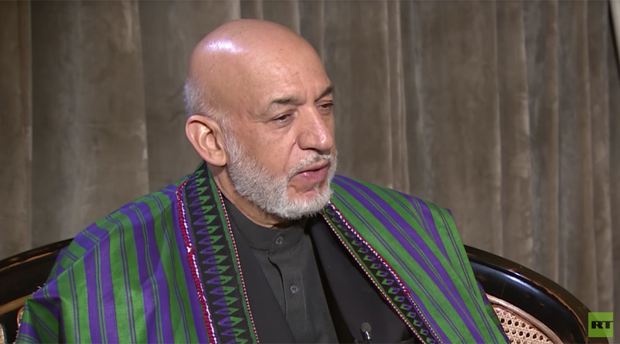 'US is fighting terrorism in the wrong places' - former Afghan President Karzai